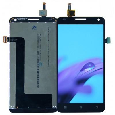 Оригинальный LCD экран и Тачскрин сенсор Lenovo S580 Black модуль