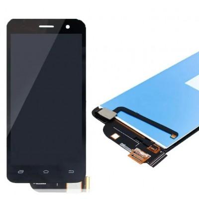 Оригинальный LCD экран и Тачскрин сенсор Lenovo S858t Black модуль