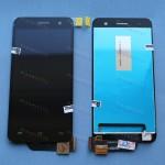 Оригинальный ЛСД экран и Тачскрин сенсор Lenovo S858t Black модуль