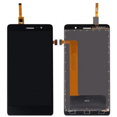Оригинальный LCD экран и Тачскрин сенсор Lenovo S860 Black модуль