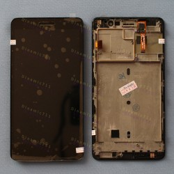 Оригинальный ЛСД экран и Тачскрин сенсор Lenovo S860 модуль с рамкой