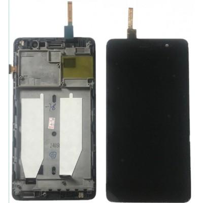 Оригинальный LCD экран и Тачскрин сенсор Lenovo S860 модуль с рамкой