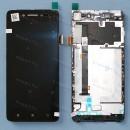 Оригинальный ЛСД экран и Тачскрин сенсор Lenovo S90 модуль с рамкой