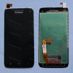 Оригинальный ЛСД экран и Тачскрин сенсор Lenovo S960 Black модуль