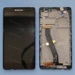 Оригинальный ЛСД экран и Тачскрин сенсор Lenovo Vibe Z K910 Black с рамкой модуль