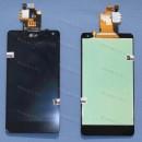 Оригинальный ЛСД экран и Тачскрин сенсор LG Optimus E975 E973 модуль