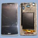 Оригинальный ЛСД экран и Тачскрин сенсор Lg G4 Stylus модуль с рамкой