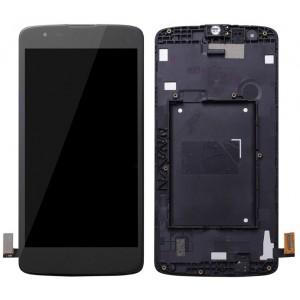 Оригинальный LCD экран и Тачскрин сенсор Lg K350E K8 lte модуль с рамкой
