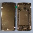 Оригинальный ЛСД экран и Тачскрин сенсор Lg K350E K8 lte модуль с рамкой