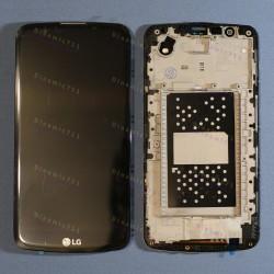 Оригинальный ЛСД экран и Тачскрин сенсор Lg K430 K10 модуль с рамкой