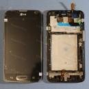 Оригинальный ЛСД экран и Тачскрин сенсор Lg D320, D321 модуль с рамкой