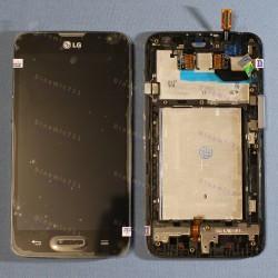 Оригинальный ЛСД экран и Тачскрин сенсор Lg D320 Optimus L70, D321 Optimus L70 модуль с рамкой