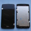 Оригинальный ЛСД экран и Тачскрин сенсор LG L Fino D295 с рамкой модуль