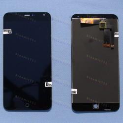 Оригинальный ЛСД экран и Тачскрин сенсор Meizu M1 Note модуль