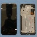 Оригинальный ЛСД экран и Тачскрин сенсор Meizu M1 Note модуль с рамкой