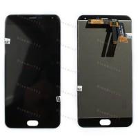 Оригинальный ЛСД экран и Тачскрин сенсор Meizu M2 Note модуль