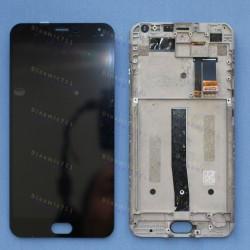 Оригинальный ЛСД экран и Тачскрин сенсор Meizu M2 Note с рамкой модуль