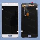 Оригинальный ЛСД экран и Тачскрин сенсор Meizu M5 Note (M621)  модуль