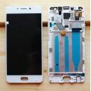 Оригинальный ЛСД экран и Тачскрин сенсор Meizu M6 Note модуль с рамкой