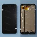 Оригинальный ЛСД экран и Тачскрин сенсор Microsoft Lumia 640 XL модуль с рамкой