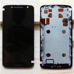 Оригинальный ЛСД экран и Тачскрин сенсор Motorola Moto X Play модуль с рамкой