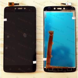 Оригинальный ЛСД экран и Тачскрин сенсор Motorola Moto C Plus XT1723 модуль