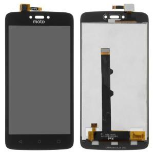 Оригинальный LCD экран и Тачскрин сенсор Motorola Moto C XT1750 модуль