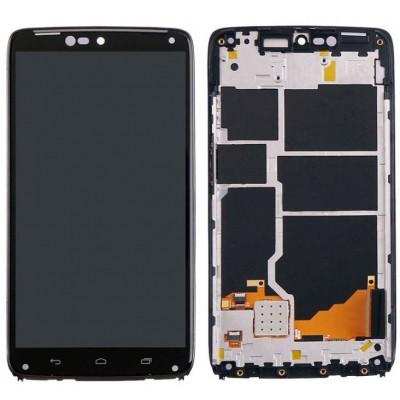 Оригинальный LCD экран и Тачскрин сенсор Motorola Moto Droid Turbo XT1254 модуль в рамке