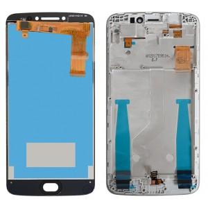 Оригинальный LCD экран и Тачскрин сенсор Motorola Moto E4 Plus XT1771 модуль с рамкой