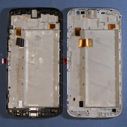 Оригинальный ЛСД экран и Тачскрин сенсор Motorola Moto G4 XT1622 модуль с рамкой