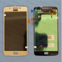 Оригинальный ЛСД экран и Тачскрин сенсор Motorola Moto G5 XT1676 модуль