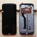 Оригинальный ЛСД экран и Тачскрин сенсор Motorola Moto G6 Play XT1922 модуль с рамкой