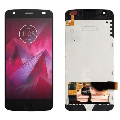 Оригинальный LCD экран и Тачскрин сенсор Motorola Moto Z2 Force XT1789 модуль с рамкой