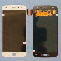 Оригинальный ЛСД экран и Тачскрин сенсор Motorola Moto Z2 Play XT1710 модуль