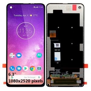 Оригинальный LCD экран и Тачскрин сенсор Motorola One Action XT2013 модуль