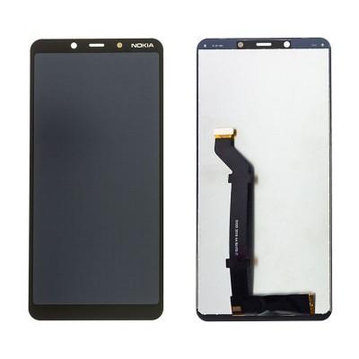 Оригинальный LCD экран и Тачскрин сенсор Nokia 3.1 Plus 2019 модуль