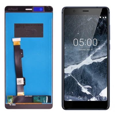 Оригинальный LCD экран и Тачскрин сенсор Nokia 5.1 2019 модуль