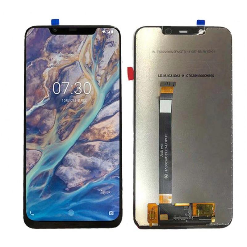 Оригинальный LCD экран и Тачскрин сенсор Nokia 7.1 Plus X7 модуль