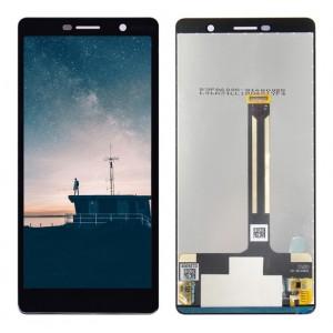 Оригинальный LCD экран и Тачскрин сенсор Nokia 7 Plus модуль