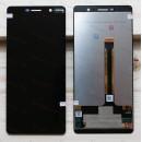 Оригинальный ЛСД экран и Тачскрин сенсор Nokia 7 Plus модуль