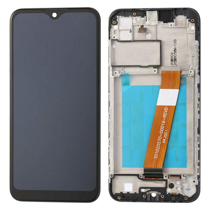 Оригинальный дисплей в рамке Samsung Galaxy A01 SM-A015  GH81-18209A
