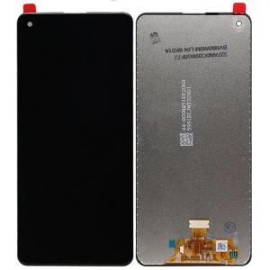 Оригинальный LCD экран и Тачскрин сенсор Samsung Galaxy A21s 2020 модуль