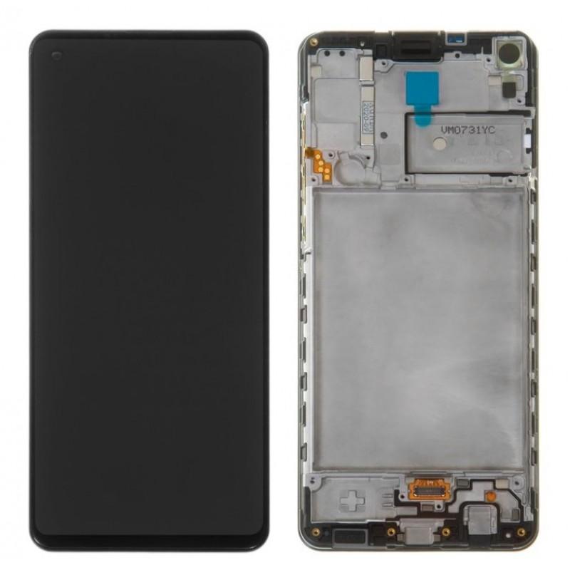 Оригинальный дисплей в рамке Samsung Galaxy A21s A217 GH82-22988A