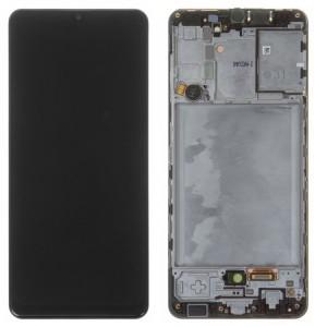 Оригинальный дисплей в рамке Samsung Galaxy A31 A315 Black GH82-22761A