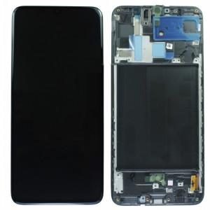 Оригинальный дисплей в рамке Samsung Galaxy A70 A705 Black GH82-19787A