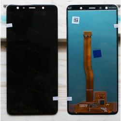 Оригинальный ЛСД экран и Тачскрин сенсор Samsung Galaxy A7 A750 2018 модуль