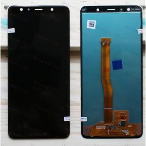 Оригинальный LCD экран и Тачскрин сенсор Samsung Galaxy A7 A750 2018 модуль