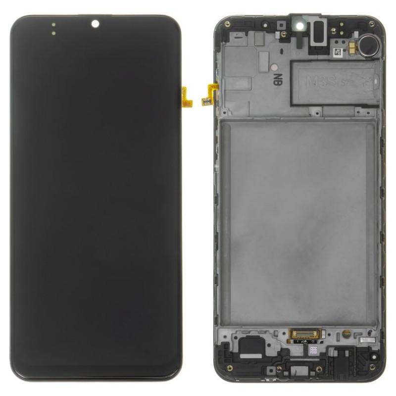 Оригинальный дисплей в рамке Samsung Galaxy M30s M307 Black GH82-21265A