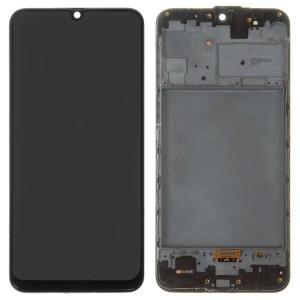 Оригинальный дисплей в рамке Samsung Galaxy M31s M317 Black GH82-23774A