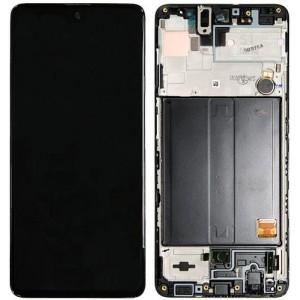 Оригинальный дисплей в рамке Samsung Galaxy M51 M515 Black (GH82-23568A)